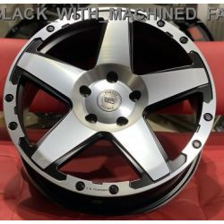 WS1286 satin black machined face
