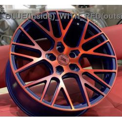 WS2106 MATTE_BLUE(inside)_WITH_RED(outside)_FACE_FORGED
