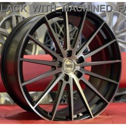 WS2116 SATIN_BLACK_WITH_MACHINED_FACE_FORGED