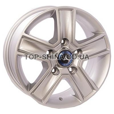 Диски ZW BK473 6,5x15 5x160 ET60 DIA65,1 (silver)