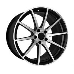 F-190 MATTE-BLACK-WITH-MACHINED-FACE
