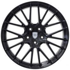 WSP Italy PORSCHE W1058 OKINAWA GLOSSY BLACK R21 W11 PCD5x130 ET58 DIA71,6