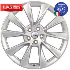 WSP Italy TESLA W1401 OXY SILVER R21 W8,5 PCD5x120 ET40 DIA64,1
