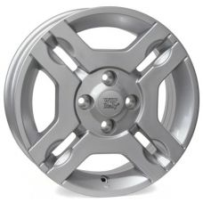 WSP Italy FIAT W161 FIUGGI SILVER R14 W5,5 PCD4x98 ET35 DIA58,1