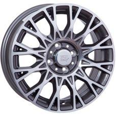 WSP Italy FIAT W162 GRACE ANTHRACITE POLISHED R15 W6 PCD5x98 ET39 DIA58,1