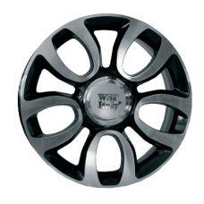 WSP Italy FIAT W167 ERCOLANO GLOSSY BLACK POLISHED R17 W7 PCD5x98 ET41 DIA58,1