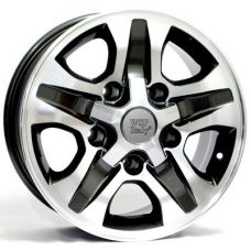 WSP Italy TOYOTA W1751 CESARE ANTHRACITE POLISHED R16 W8 PCD5x150 ET0 DIA110,1