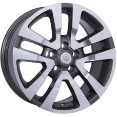 WSP Italy LAND ROVER W2355 ARES ANTHRACITE POLISHED R20 W9,5 PCD5x120 ET53 DIA72,6
