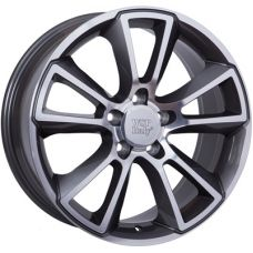 WSP Italy OPEL W2504 MOON ANTHRACITE POLISHED R18 W8 PCD5x110 ET43 DIA65,1