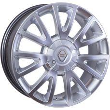 WSP Italy RENAULT W3303 ASSEN - Clio HYPER SILVER R17 W7 PCD4x100 ET38 DIA60,1