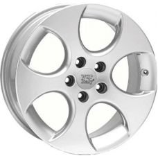WSP Italy VOLKSWAGEN W444 CIPRUS SILVER POLISHED R18 W7,5 PCD5x112 ET47 DIA57,1