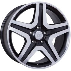 WSP Italy MERCEDES W775 MIYAGI DULL BLACK FULL POLISHED R20 W9,5 PCD5x130 ET50 DIA84,1