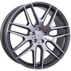 WSP Italy MERCEDES W778 ERIS ANTHRACITE POLISHED R21 W9,5 PCD5x112 ET30 DIA66,6